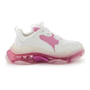 BalenciagaTriple S 粉色老爹鞋