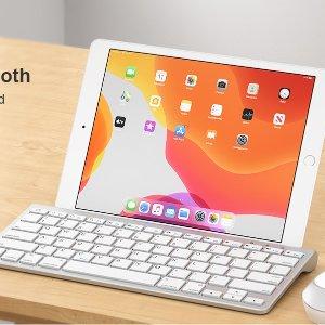 $23.79(原价$29.99)OMOTON iPad 无线蓝牙键盘 内置平板支架
