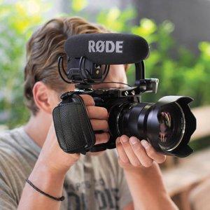 Rode VideoMic Pro with Rycote Lyre Shockmount VIDEOMIC PRO-R B&H