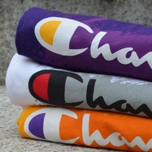 5折起+额外8折!€9收logo T恤Champion 春季上新热卖 T桖、卫衣、Legging全都有