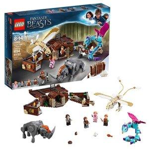 $29.99(原价$49.99) 箱子一秒变场景史低价:LEGO乐高 纽特的魔法手提箱 75952