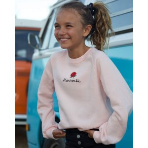 Abercrombie & Fitch买3送3女童卫衣