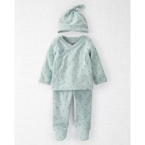Carter's婴儿有机棉三件套