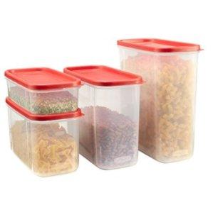 现价$20.97(原价$36)Rubbermaid 食物存储盒8件套