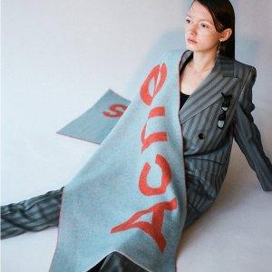 Acne Studios 网红围巾定价优势 封面新色$219 无关税