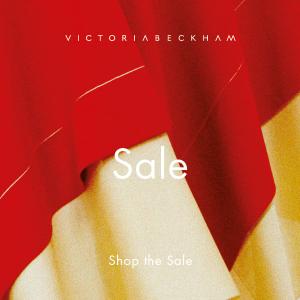 低至4折 上衣£62起 跟着贝嫂学穿衣上新:Victoria Beckham官网 季中美衣美鞋美包春夏新品特卖