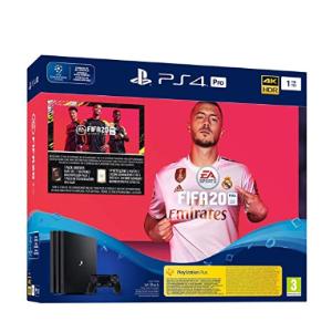 限时秒杀¥2123史低价:PlayStation PRO4 游戏机 1TB Konsole + FIFA 20