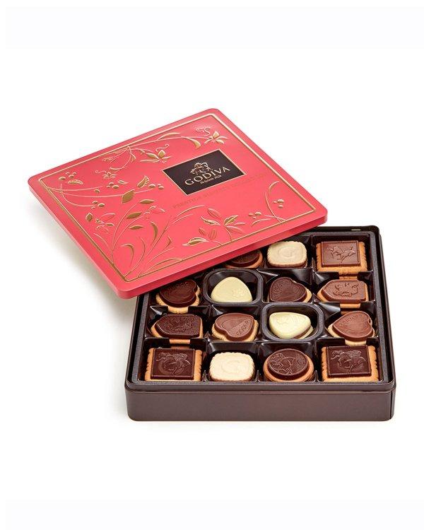Godiva 什锦巧克力饼干礼盒 46粒装