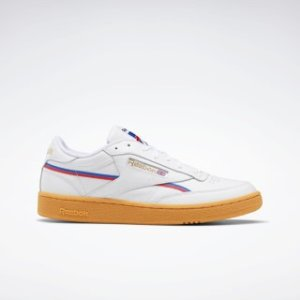 Reebok复古小白鞋