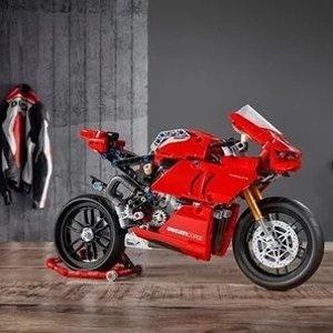 $99.99新品上市:Lego 机械组 Ducati Panigale V4 R杜卡迪公升级机车42104