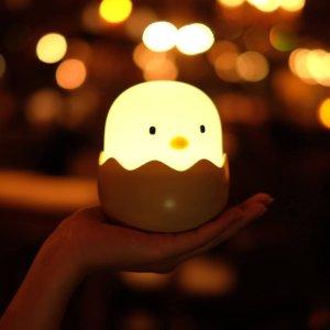 低至7.5折 €15.99收封面小鸡仔Amazon 床头小夜灯热促 柔和光线 触摸感应智控 温馨你的居室