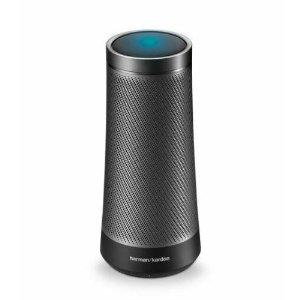 $39.99史低价:Harman Kardon Invoke 360°音箱 带低音特效 内置Cortana