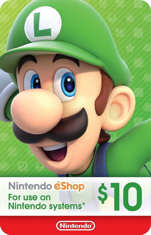 eShop $10 电子礼卡
