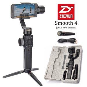 $95.20Zhiyun Smooth 4 手持便携式三轴稳定器 黑色款