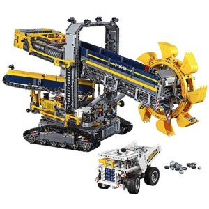 Amazon LEGO Technic Bucket Wheel Excavator 42055 Construction Toy