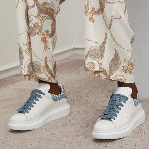 无门槛8折 £288收麦昆小白鞋Alexander McQueen 小白鞋好折扣 心心念念一步到位