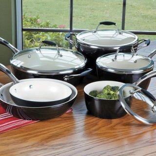 Tramontina 80110/525DS Gourmet Ceramica Deluxe Cookware Set
