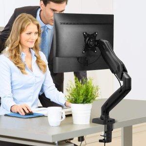 """$37.05(原价$47.59)单臂显示器支架 可支持27""""显示器"""