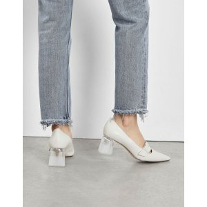 Charles & KeithTurquoise Lucite Heel Mary Janes | CHARLES & KEITH US