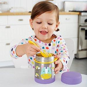 低至7.7折 保温罐$15.47Skip Hop 动物系列日用玩具热卖 瓢虫牵儿童引包$19.03