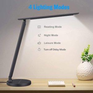 $33.95(原价$41.95)BOMT LEF护眼台灯 可调节亮度 学习护眼两不误