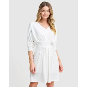 Morning Light Mini Dress - White