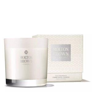 Molton BrownCoco & Sandalwood Three Wick Candle