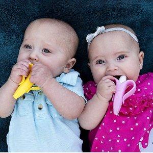 $4.79起Baby Banana 婴幼儿牙刷牙胶热卖,刷出一口好牙
