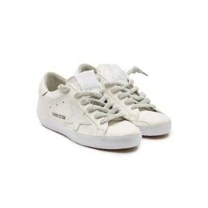 GOLDEN GOOSE纯白Sneakers