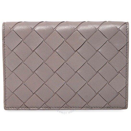 Grey Intrecciato钱包