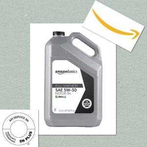这么便宜到底能不能买Amazon 自营品牌全合成机油横空出世