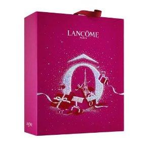 定价£105+送5件套礼包Lancome 兰蔻2020圣诞日历上市 全新极光冰雪彩妆同步发售