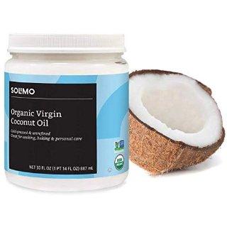 $9.49 免邮 食用级多功能植物油Amazon Brand 亚马逊自营有机初榨椰子油 30oz