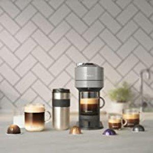 低至5.4折 优惠价€129.9收黑五价:Nespresso Vertuo Next 胶囊咖啡机+牛奶起泡器 元气满满的一天