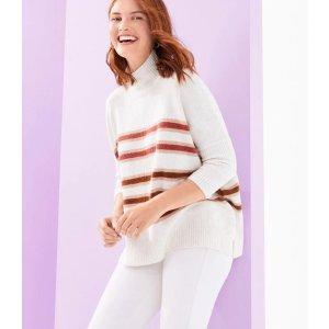 LOFT Outlet5件额外5折高领毛衣