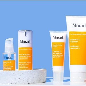 满额送4件套 美国经典药妆Murad 抗痘专家护肤热卖 生理期痘痘好克星
