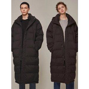 YAN13中性长款保暖外套