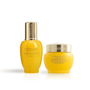 L'OccitaneAnti-Aging Serum & SPF Cream Duo