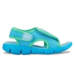 $12Nike Sunray Adjust 4 幼儿凉鞋,5-10码全