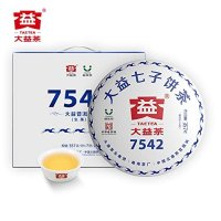 TAETEA 大益经典7542大饼普洱生茶 357g