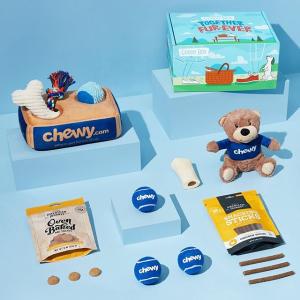 订阅首单7折+最高额外9折Chewy 海量宠物食品、用品等促销,宅不出户也能囤货