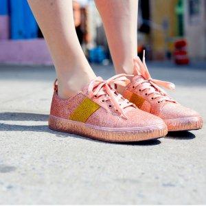 Glitter La Cienegas Sneakers @ Opening