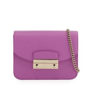 Buy 1 Get 1 FreeFurla Julia Mini Saffiano Leather Crossbody Bag