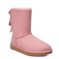 UGG Australia Bailey 粉色蝴蝶结雪地靴