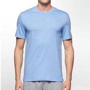 史低价 $23.18(原价$50.96)白菜价:Tommy Hilfiger 男士圆领纯棉T恤3色三件套装 - 小号