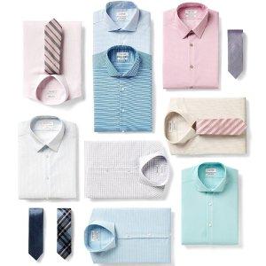 3件$89 近期好价Calvin Klein 男士衬衫大促 面料、剪裁都不错