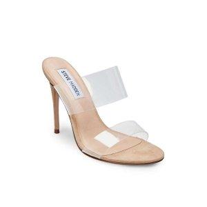 透明高跟穆勒鞋
