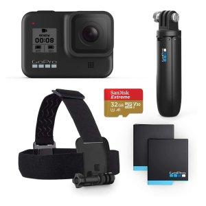 $399(原价$599.99)GoPro Hero8 运动相机6件套
