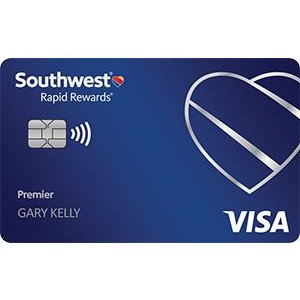 Earn 40,000 points plus 3X points on dining for a year.Southwest Rapid Rewards® Premier Credit Card