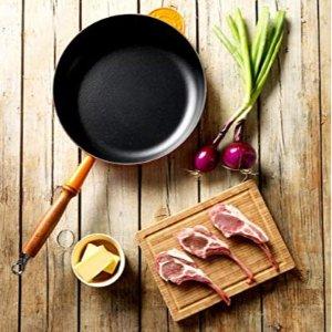 Le Creuset 木柄铸铁牛排煎锅 7.4折特价